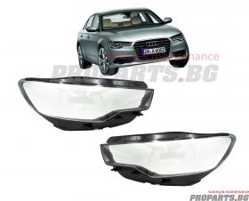 Headlamp lenses for Audi A6 C7 11-14
