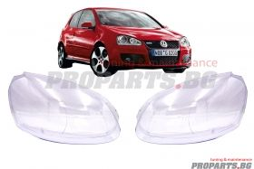 Headlamp lenses for Volkswagen Golf 5 03-08