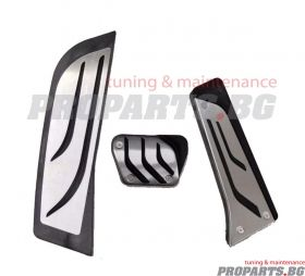 BMW M performance pedal pads for automatic gearbox