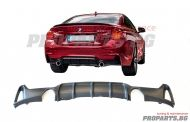 M performance diffuser for BMW f32 f36 13-