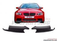 GT Splitters for M3 bumper BMW e92