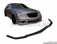 Front lip spoiler for Mercedes W211 E63 AMG 03-09