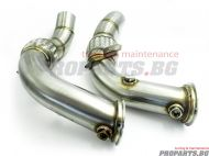 Downpipe for BMW F10 M5 F12 M6 11-17