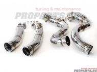 Downpipe for Mercedes Benz W205 C63 C63S AMG 2015-